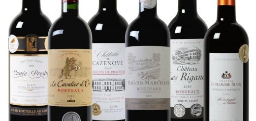Exklusives Bordeaux Weinpaket