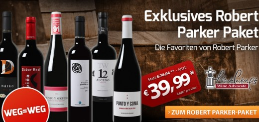 Exklusives Robert Parker Wein-Paket